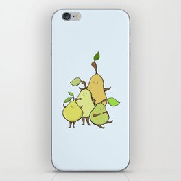 Pear Shapes iPhone Skin