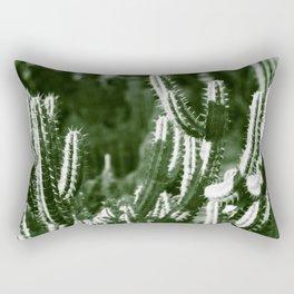 Vintage Cactus Print III Rectangular Pillow