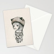 Fox Girl Stationery Cards
