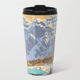 Banff National Park Metal Travel Mug
