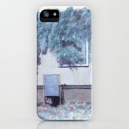 La chaise longue iPhone Case