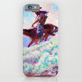 Blackfeet - William Herbert Dunton iPhone Case