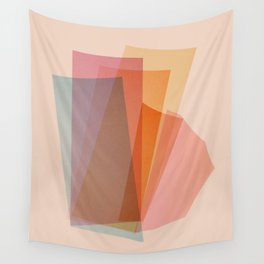 Abstraction_Spectrum Wall Tapestry