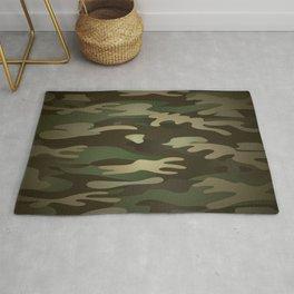 Military Camo Rug