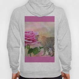 The Rose and the Leopard Hoody