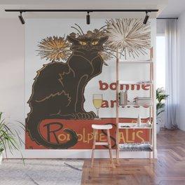 Bonne Annee Happy New Year Parody Wall Mural