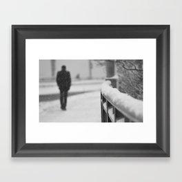 Lonely Stranger Framed Art Print