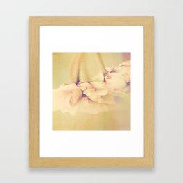 Blury Rose Framed Art Print