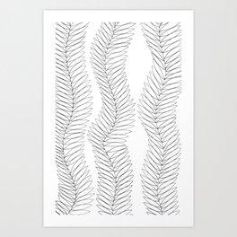 hand-drawn pattern no 14 Art Print