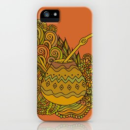Yerba Mate In The Gourd iPhone Case
