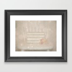 In the Hysterical Realm  Framed Art Print