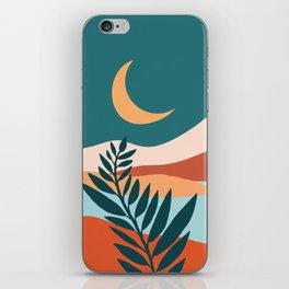 Moonlit Mediterranean / Maximal Mountain Landscape iPhone Skin
