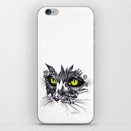 Intense Cat iPhone Skin
