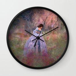 Impression by Kylie Addison Sabra Wall Clock