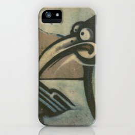 Penguin Graffiti iPhone Case
