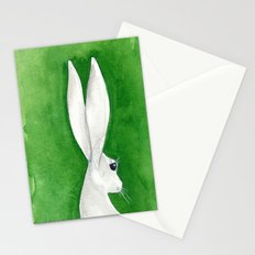tenzin rabbit Stationery Cards