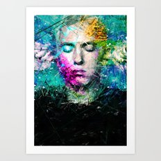 Rap God Art Print