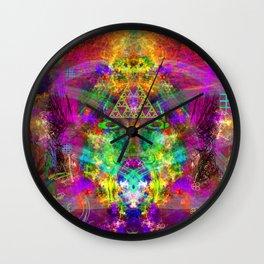 Aliens Fried My Mind Wall Clock