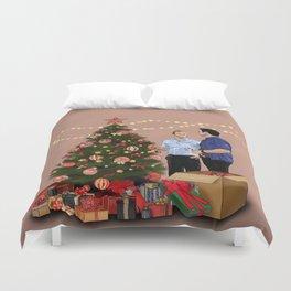 Merry Christmas - McDanno Duvet Cover