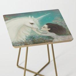 Unicorn Kiss Side Table