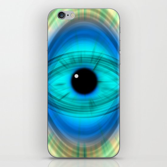Eye abstract iPhone & iPod Skin