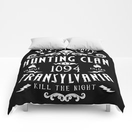 Geeky Gamer Chic Castlevania Inspired Belmont Family Hunting Clan Comforters