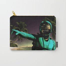 Tropical Astronaut Carry-All Pouch