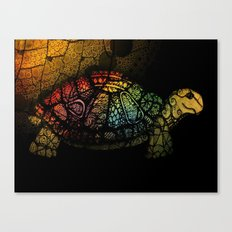 Turtle Glow Canvas Print