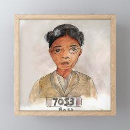 Like a Boss: Rosa Parks Framed Mini Art Print