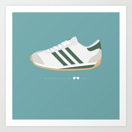 Beverly Hills Cop famous shoes Art Print