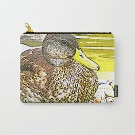 Impressive Animal - sketchy Duck Carry-All Pouch
