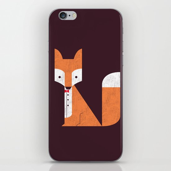 Le Sly Fox iPhone & iPod Skin
