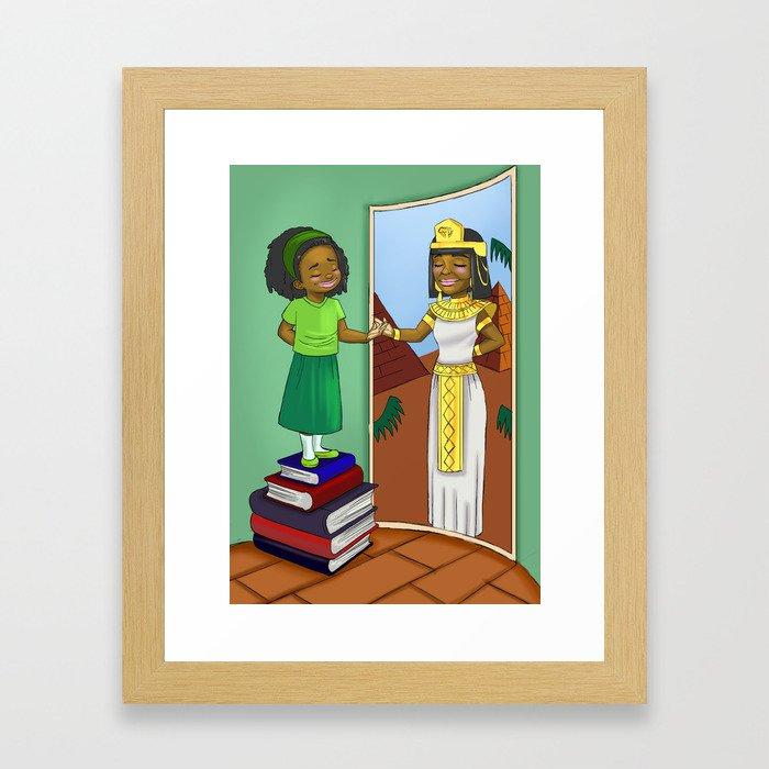 Finding my inner Queen Framed Art Print