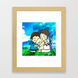 Valent Framed Art Print