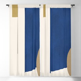 Minimal Geometric 58 Blackout Curtain