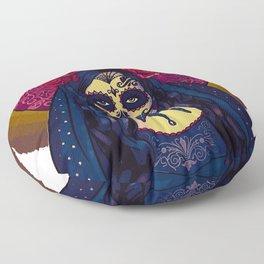 Des Muertos Goddess Floor Pillow