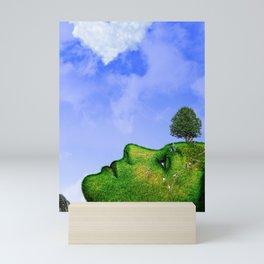 Mother Nature Smiling Mini Art Print