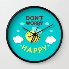 Buzzing life! Wall Clock