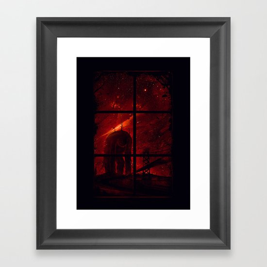 The Otherside Framed Art Print