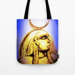 Hatshepsut Royal Blue Tote Bag