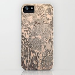 itchy series: no. 2 iPhone Case