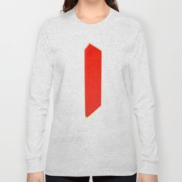 Abstract Re-Created Painting in Space Long Sleeve T-shirt