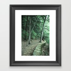 The Way To Neverland Framed Art Print
