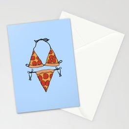 Pizza Bikini Stationery Cards