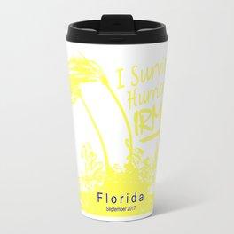 I survived Hurricane Irma Travel Mug