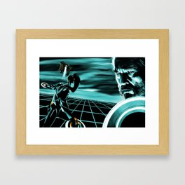 Fighting for the users Framed Art Print