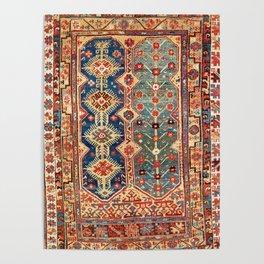 Megri Southwest  Anatolian Rug Print Poster
