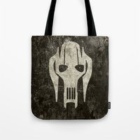general Tote Bags featuring General Grievous by Some_Designs