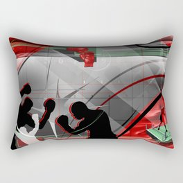 Boxing Rectangular Pillow
