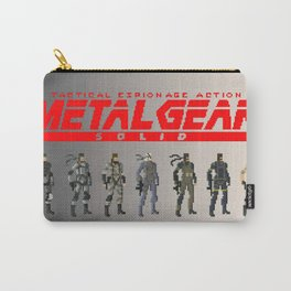 Pixel Snakes Carry-All Pouch